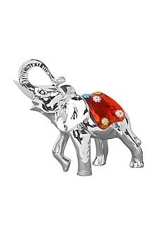 Silver elephant glass by Shaze