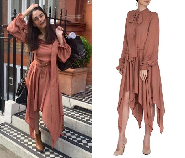 Ruby Asymmetrical Dress by Meadow