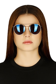 Dylan cobalt mirrored limited edition sunglasses