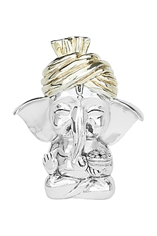 Silver Plated Ganesha (S) by Shaze