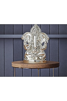 Silver Plated Divinity Ganesha (S) by Shaze