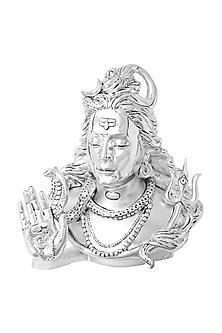 Silver Shiva Omniscient Lord Idol by Shaze