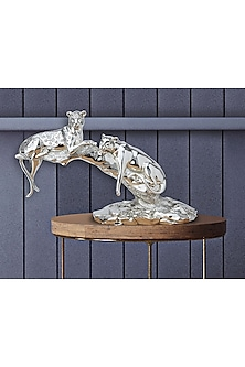 Silver Plated Wildlife Treasures Figurine (L) by Shaze