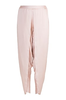 Pink Dhoti Pants by Aarti Mahtani