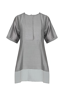Grey Contrast Panel Top