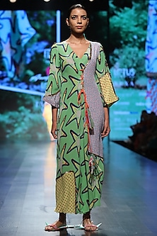 Green Long Dress by Anupamaa Dayal