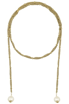 Aurum Chakra Antique Finish Necklace