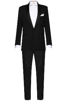 Black tuxedo with trousers