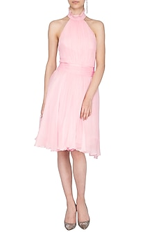 Light Pink Frock Dress by AGT by Amit GT