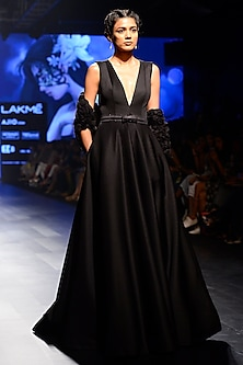 Black Ball Gown with Jacket