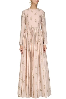 Floral Embroidered Anarkali