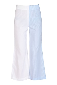Blue Striped Pants by Aruni
