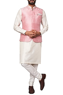 Light Pink Nehru Jacket