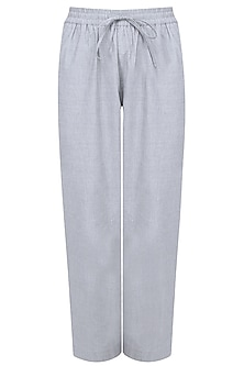 Oxford Blue Grey Travel Pants by Anomaly