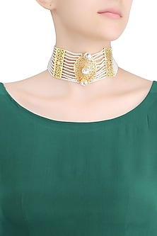 Gold Plated Diwan E Am Choker