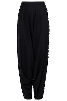 Black Dhoti Pants by Asmita Marwah