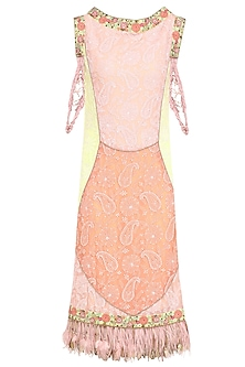 Multicolor Embroidered Shift Dress by Avdi