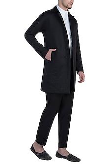 Black embossed jacket by BLONI