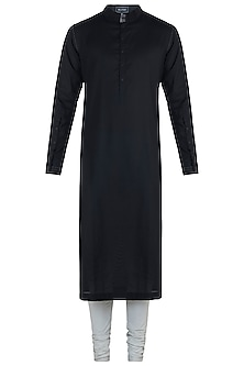 Black kurta with pants