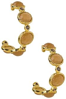 Amber Frida Hoop Earrings by The Bohemian