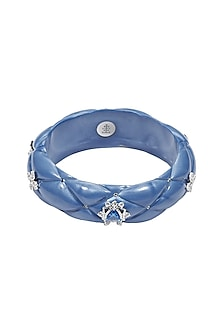 Silver twinkle star bangle by The Bohemian