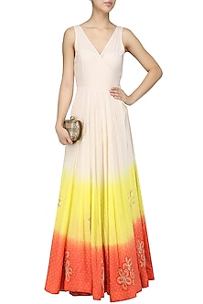 Off White Angrakha Maxi