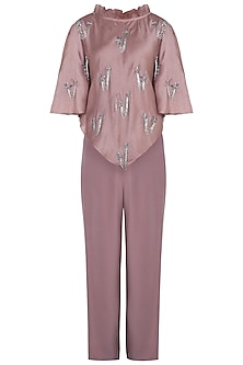 Pink Kaftan Top with Pants
