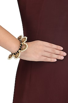 Gold Plated Panki Bangle by Blue Turban