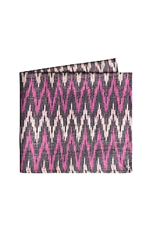 Purple Ikat Woven Pocket Square by Closet Code