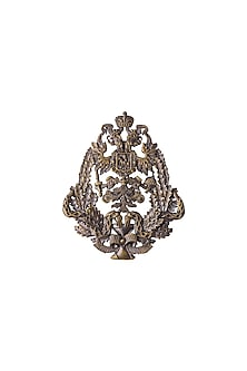 Antique Gold Finish Army Inspired Brooch by Cosa Nostraa