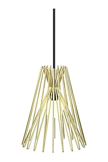 Golden Prismatic Steel Ceiling Lamp  by CLEARTE