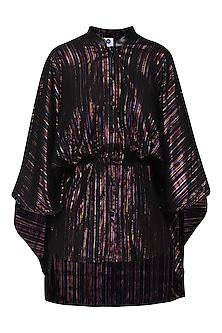 Multicolor Cape Shirt