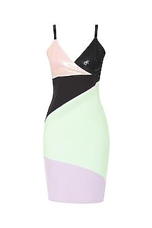 Multi-Colour Bodycon Dress
