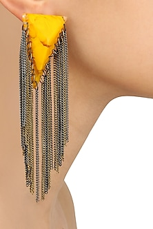 Aureolin Gawa Chain Earrings