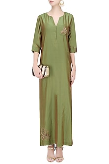 Henna Column Dress by Vandana Dewan