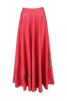 Sindhoori Panelled Skirt by Vandana Dewan