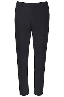 Black Side Striped Trousers