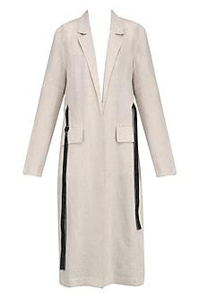 Beige Summer Trench Coat