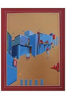 URBAN SKYLINE 4 by ABHIJIT PAUL X Mayinart