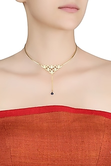 Gold Plated Triumph of Peace Choker