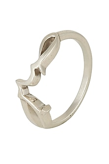 Rose Gold Plated Sabr Ring by Eina Ahluwalia