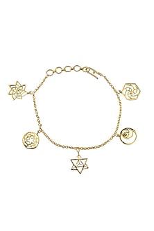 Sacred Geometry Charm Bracelet by Eina Ahluwalia