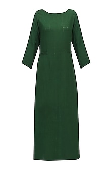 Moss Green Tunic Dress