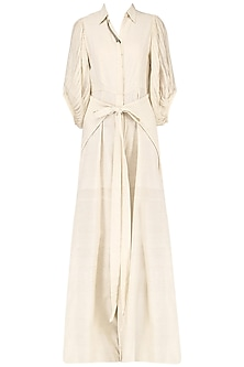 Off-white knotted jumpsuit