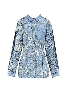 Light Work Patchwork Nipped Jacket by Kanelle