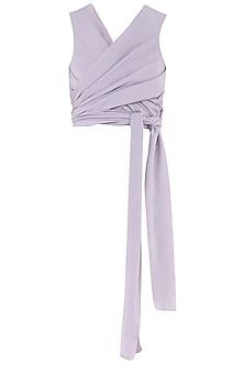 Lilac Wrap Around Top by Esse