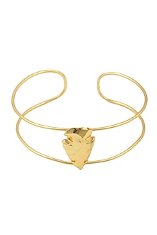 Gold Finish Uni-Choker by Eurumme Jewellery
