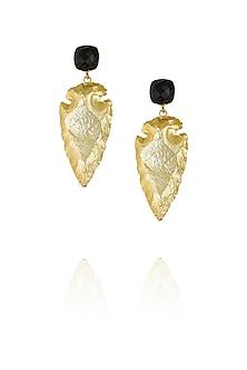 Black eurumme signature earrings by Eurumme Jewellery