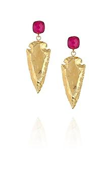 Pink eurumme signature earrings by Eurumme Jewellery