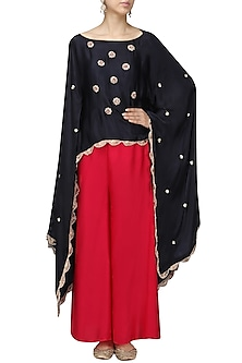 Nargis Embroidered Cape
